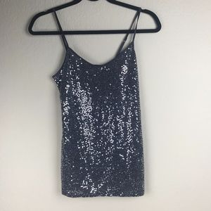 Express Sequin Cami Top with Adjustable straps